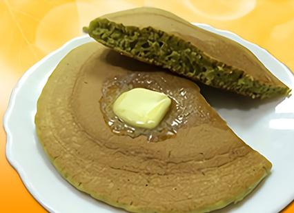 桑の青汁ホットケーキ